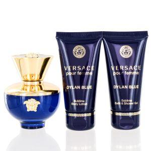 Versace Dylan Blue For Women 3 Piece Gift Set